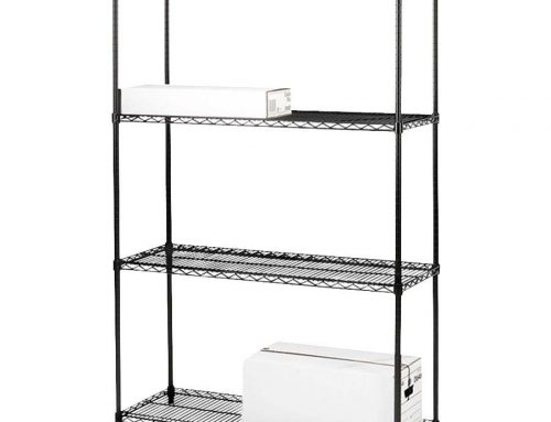Lorell Add-On Industrial Wire Shelving