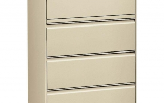 LLR 60435 4 drawer laterla file 42""