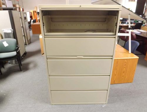5 Drawer 42″ Lateral File
