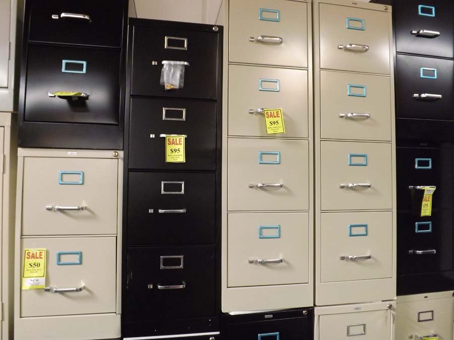4 drawer vertical file