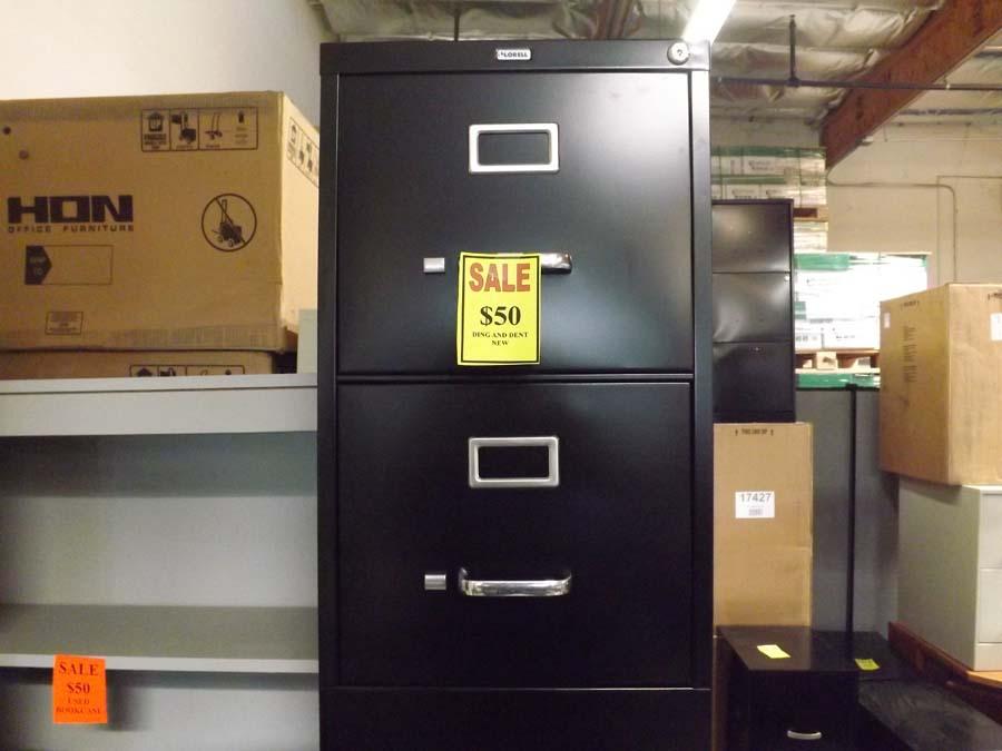 2 drawer vertical file