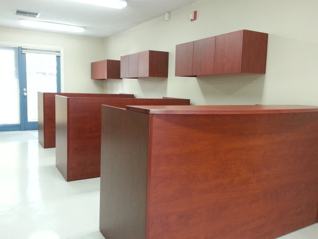 Open Office Reception Area Cherryman Office Furniture