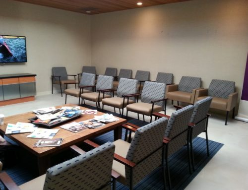 Reception Seating for Auto Dealership Service Lounge