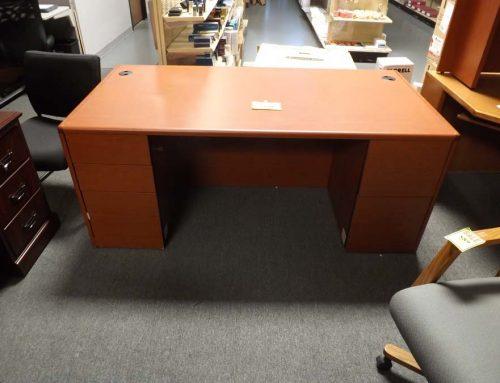 Double Pedestal Desk/Credenza