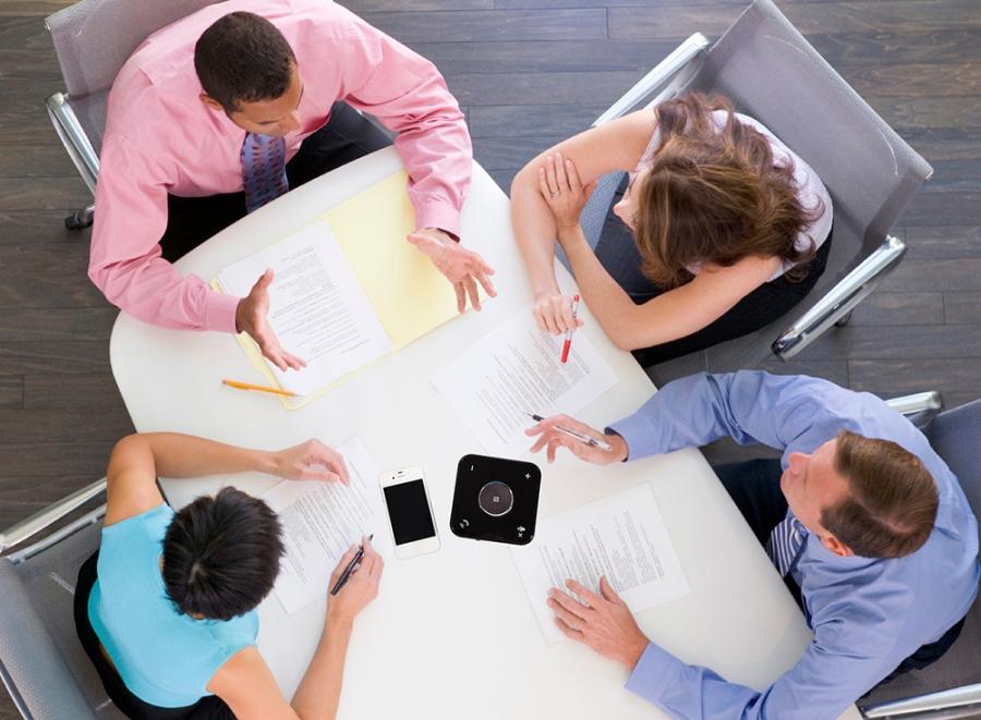 SPRACHT bluetooth conference room speakerphone